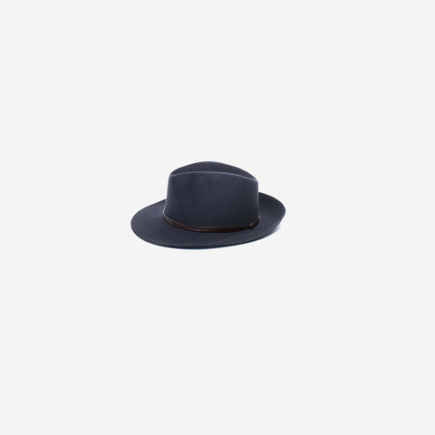 SIMPLE FORM. - Travaux En Cours - Felt Hat Navy - Hat