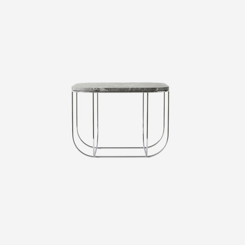 SIMPLE FORM. - Menu - Cage Table Grey Marble - Table