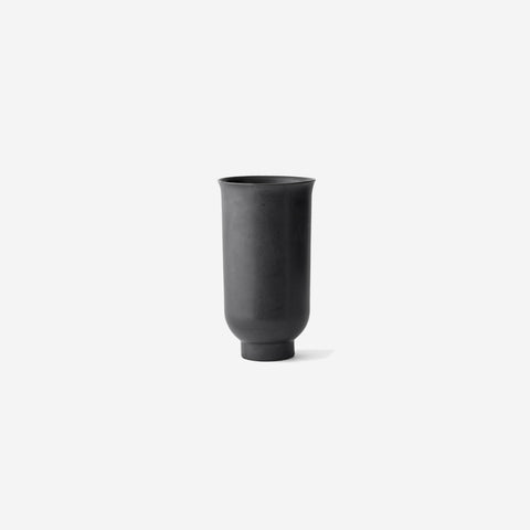 Menu - Cyclades Vase Large Black - Vase  SIMPLE FORM.