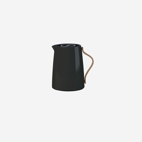 SIMPLE FORM.-Stelton Emma Tea Vacuum Jug Black Vacuum Jug