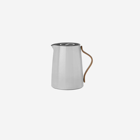 SIMPLE FORM.-Stelton Emma Tea Vacuum Jug Grey Vacuum Jug