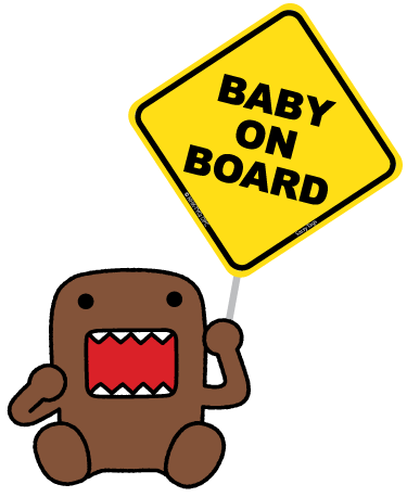Domo Baby On Board - Two Pack