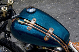 DIY Tips On Removing Rust From a Motorcycle Gas Tank