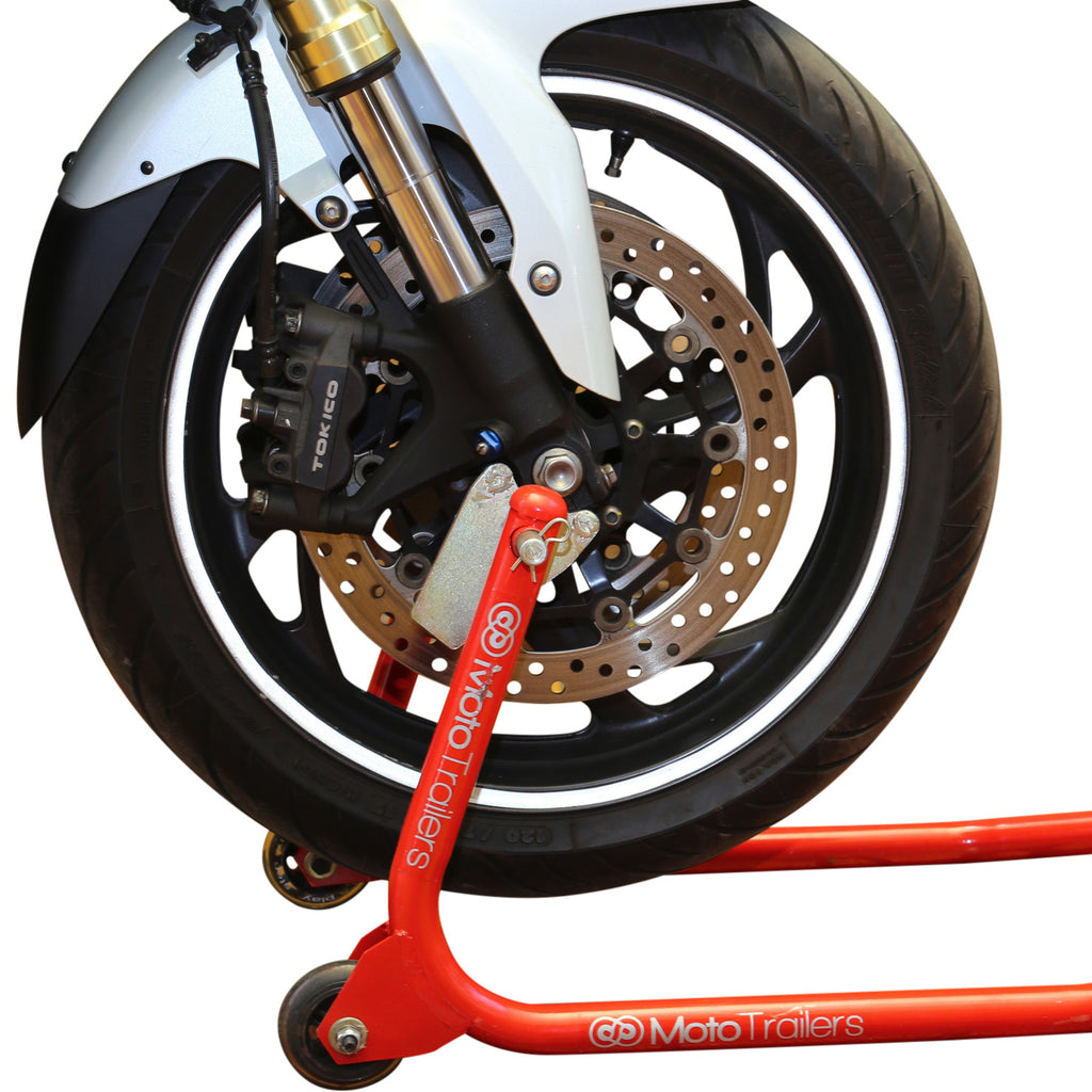 Buy Motorcycle Front Paddock Stand At Moto Trailers For Only