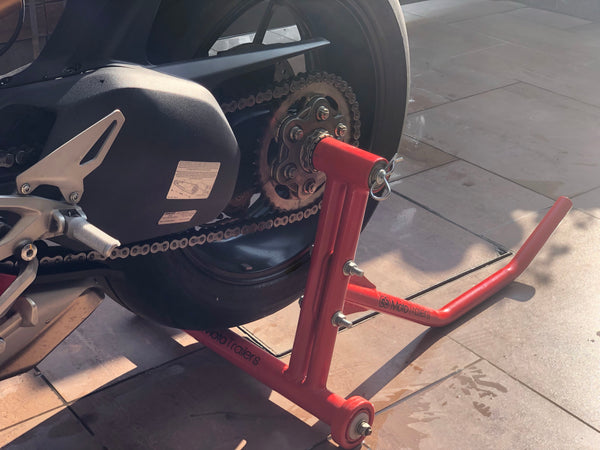 Premium Single Sided Paddock Stand - Moto Trailers