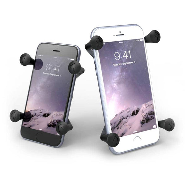 X-Grip Phone Bike Mount + USB Charger - Moto Trailers
