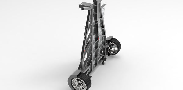 Single Bike Folding Trailer - Moto Trailers