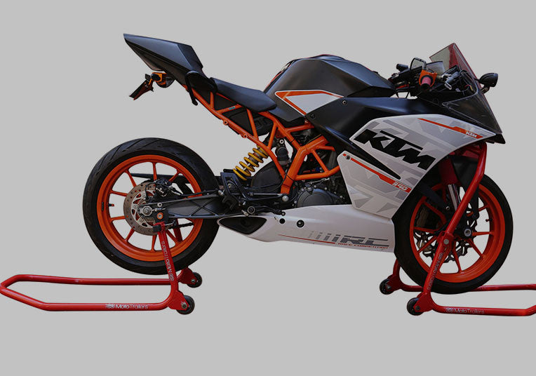 Motorcycle Triple Tree Paddock Stand - Track / Race / Garage