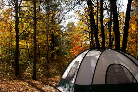 locate an amazing campsite location