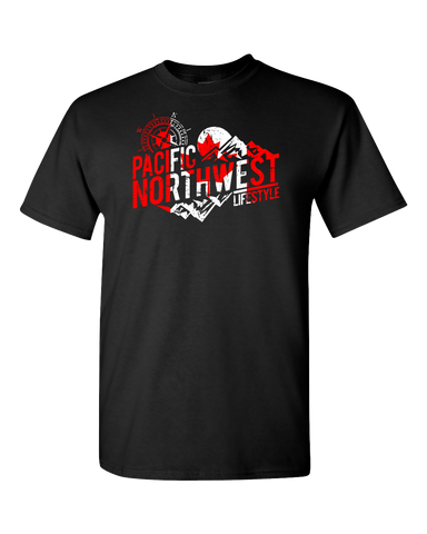 PNW Rugged Adventure *Canada Day* T-Shirts - Pacific NorthWest Lifestyle