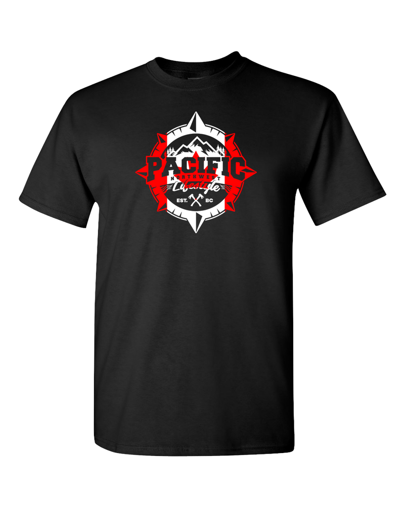 PNW Compass *Canada Day* Tees - Pacific NorthWest Lifestyle