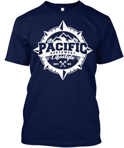 Pacific NorthWest Compass T-Shirt - Pacific NorthWest Lifestyle