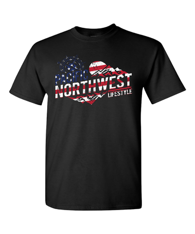 PNW Rugged Adventure *Independence Day* Tees