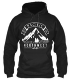 Pacific NorthWest Vintage Mountain Hoodie - Pacific NorthWest Lifestyle