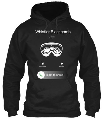 PNW Hoodie Whistler is Calling - Pacific NorthWest Lifestyle