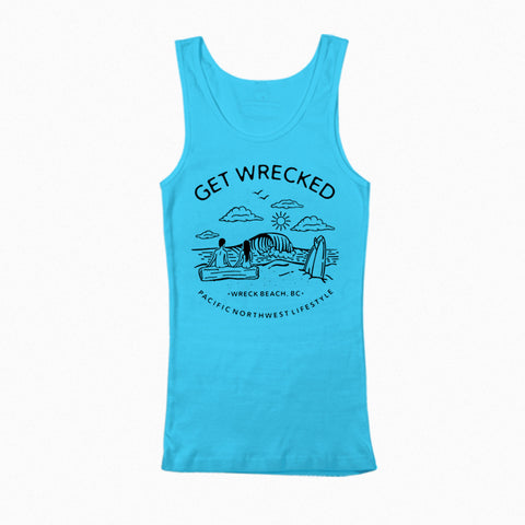 Get Wrecked - Unisex Wreck Beach Tank Top