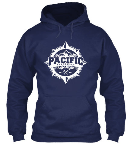 Pacific NorthWest Compass Hoodie - Pacific NorthWest Lifestyle