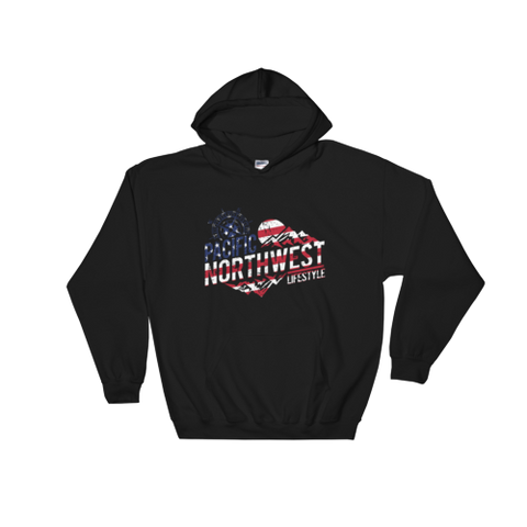 PNW Rugged Adventure USA *Independence Day* Hoodies