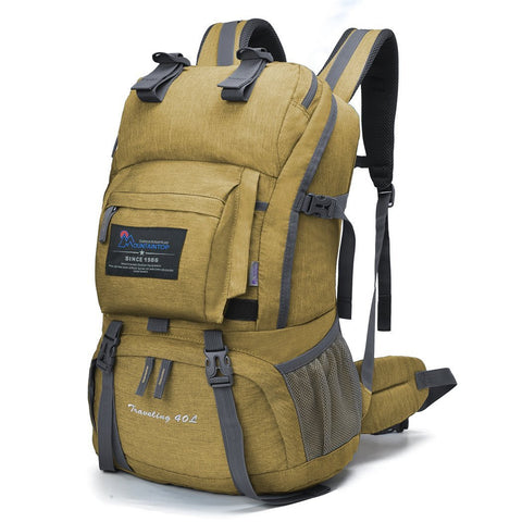 40L Water-resistant Hiking Daypack/Camping Backpack with Raincover - Pacific NorthWest Lifestyle