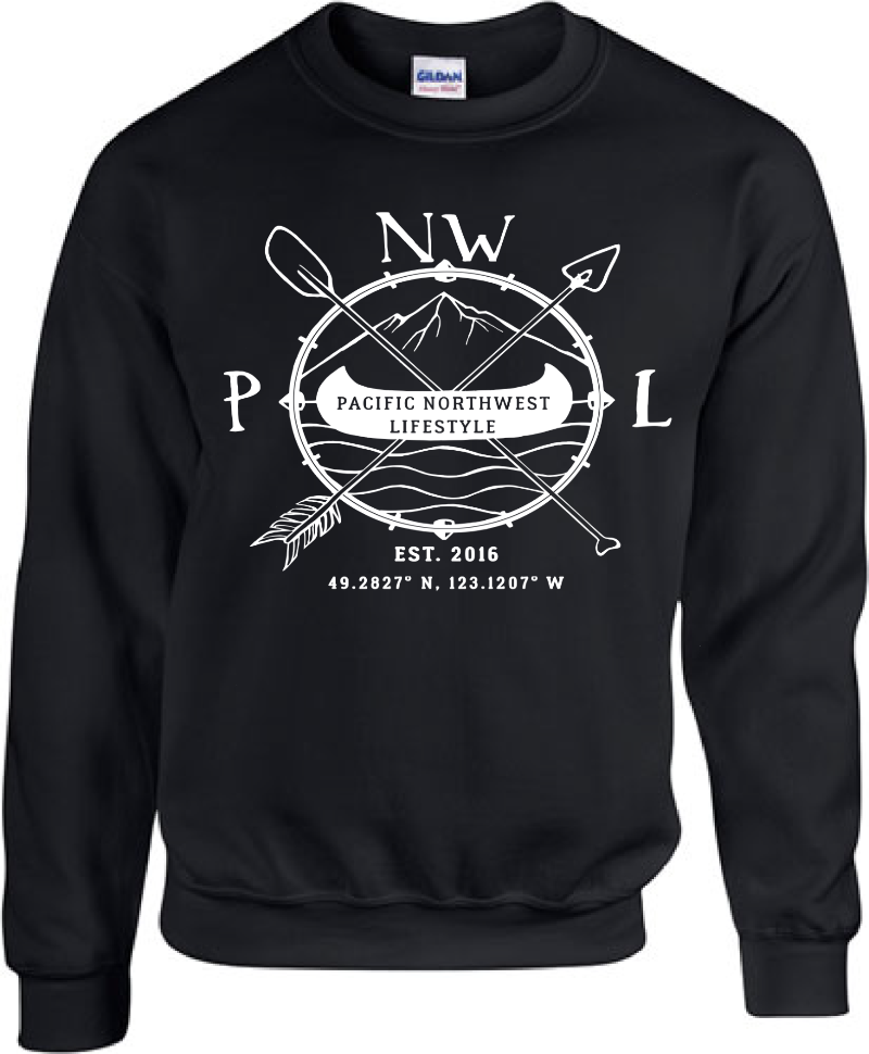 Pacific NorthWest Clothing - Pacific NorthWest Lifestyle - Pacific NorthWest Crewneck Sweater - PNW Clothes - pnw clothing - pnw sweatshirt EpmHvFtLh