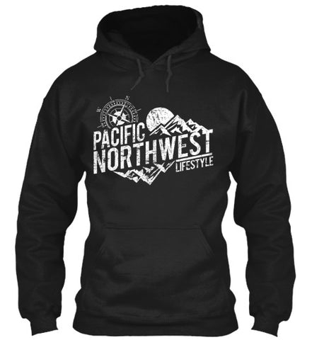 Pacific NorthWest Rugged Adventure Unisex Hoodies