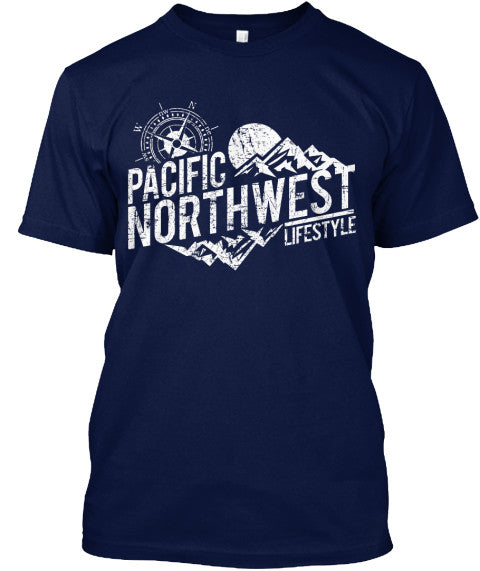 Pacific NorthWest Rugged Adventure Tees - Pacific NorthWest Lifestyle