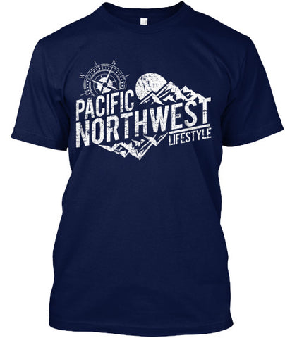 Pacific NorthWest Rugged Adventure Unisex Tees