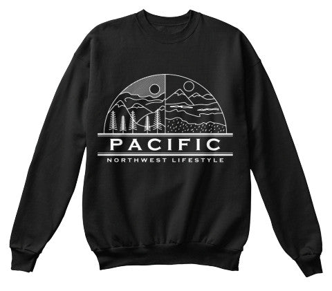 Pacific NorthWest Weather Crewneck Sweater - Pacific NorthWest Lifestyle