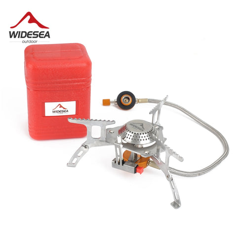 Widesea Outdoor Gas Stove Camping Gas burner Folding Electronic Stove hiking Portable Foldable Split Stoves 3000W - Pacific NorthWest Lifestyle