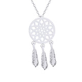 Vintage Dreamcatcher Charm Necklaces Pendants For Women Bohemia Jewelry Stainless Steel Chain Choker Collares Mujer Bijoux Bff - Pacific NorthWest Lifestyle