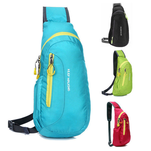 4 Colors Sport Backpacks Waterproof Outdoor Travel Backpack Package Chest Bag for Women Men Shoulder Rucksack Cycling Sports Bag - Pacific NorthWest Lifestyle