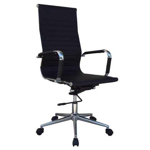 High Back Black Executive Office Chair