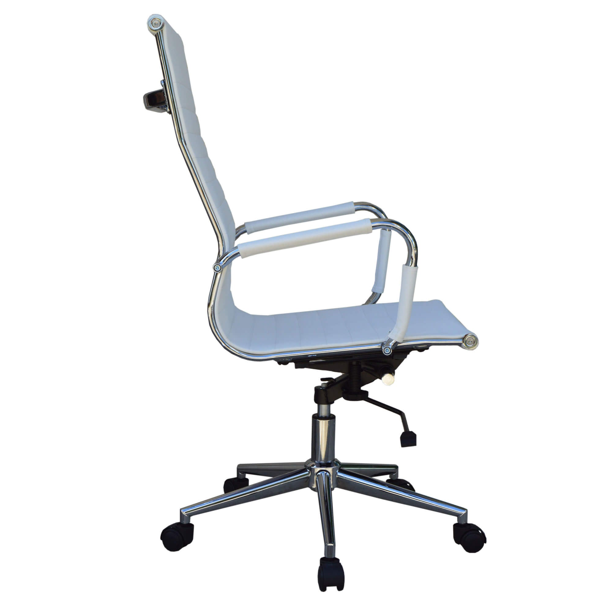 High office chair - High Back White Executive Office Chair