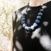 workers Blue necklace
