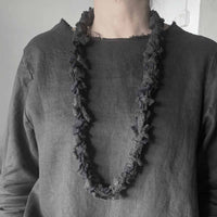 Recycled wool necklace  / שרשרת צמר ממוחזר - studio oh design