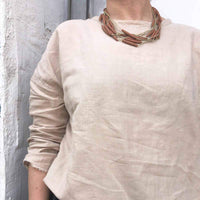 Chocolate Multi layered Necklace - studio oh design