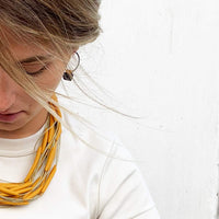 goldenrod necklace