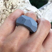 Round polymer Ring - studio oh design