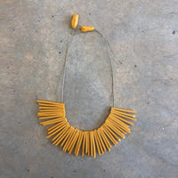 Peach Sun Necklace
