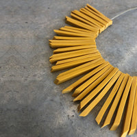 GoldenRod Sun Necklace