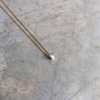 white Wheel Necklace - studio oh design