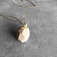 Wheat diamond Necklace - studio oh design