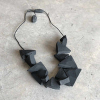 Triangles beads necklace - studio oh design