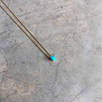Red Wheel Necklace - studio oh design