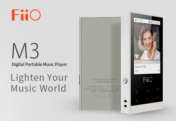 Have you seen our FiiO M3 digital portable music player?