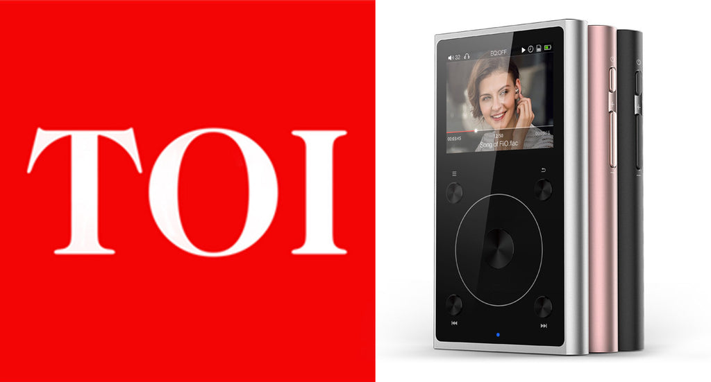 FiiO X1 II Gen Has Been Reviewed By The Times Of India