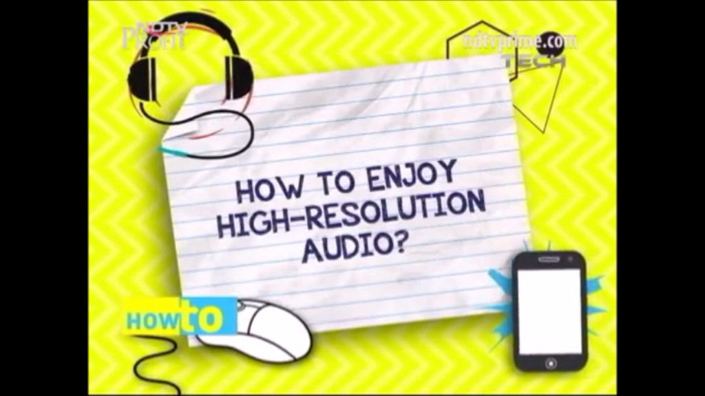How to enjoy high-resolution Audio?