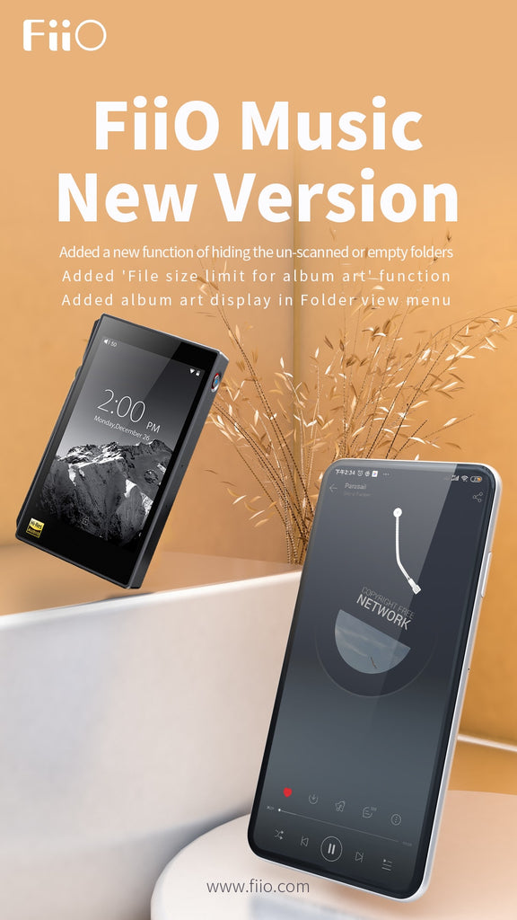 [New update]The FiiO Music App v1.2.0 for Android devices and X5III/X7/X7MKII update now!