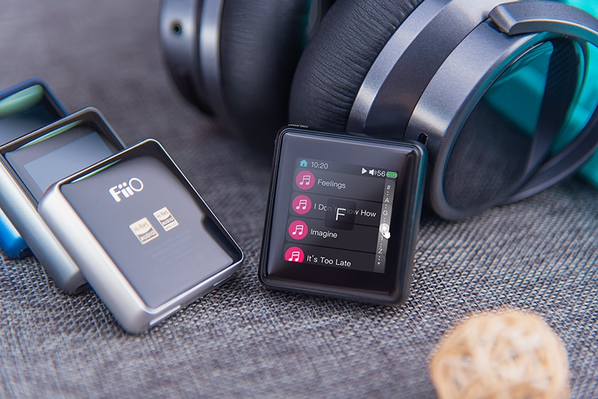 FiiO releases the new firmware FW1.3.2 for M5, new added quick search function in track lists