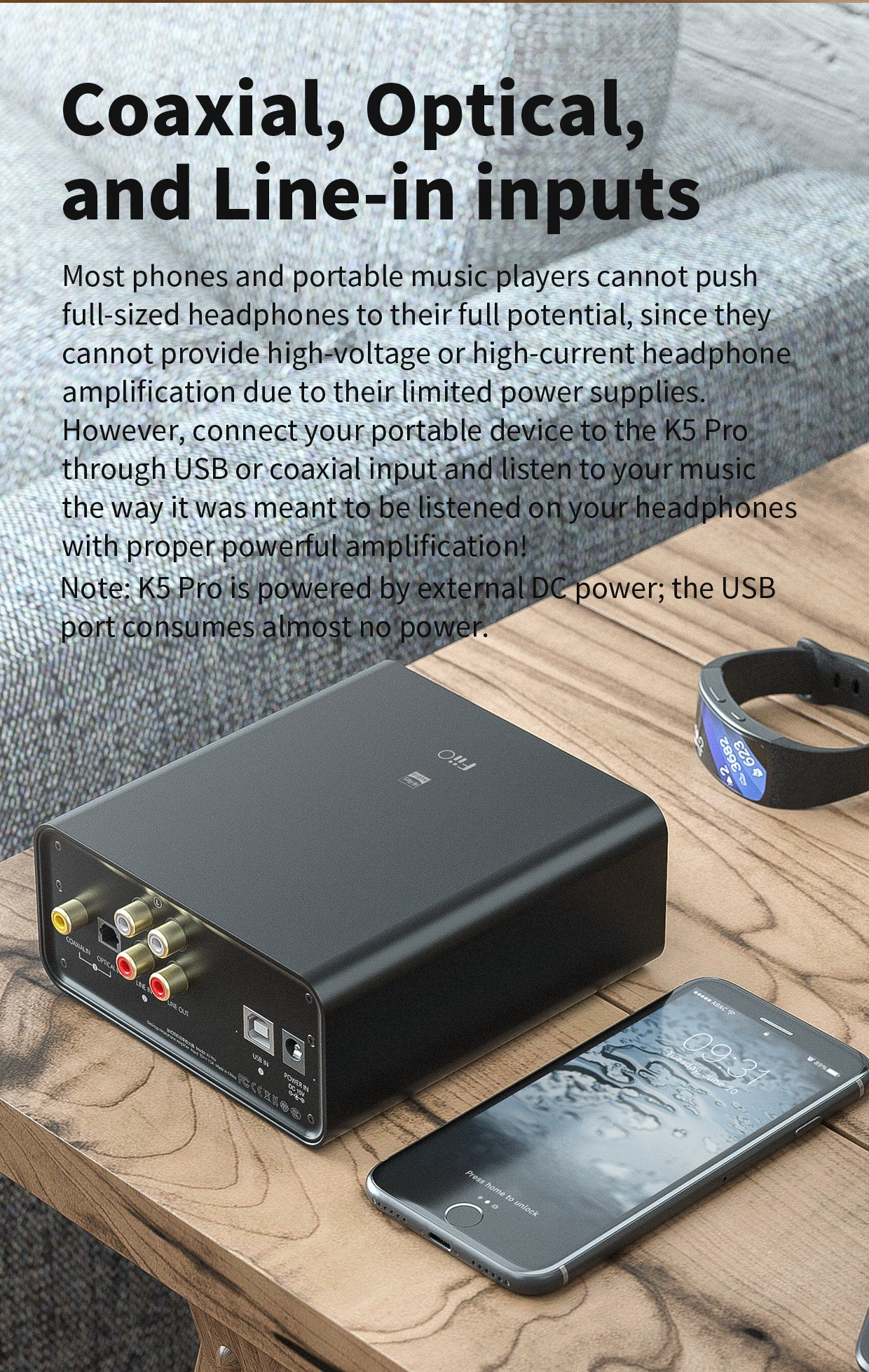 FiiO K5 Pro Portable Amplifier & DAC
